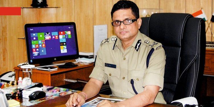 File photo of  Rajeev Kumar, police commissioner of Kolkata,