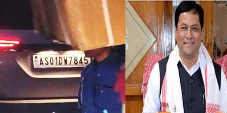 Angry mob attacks Assam CM's vehicle 1