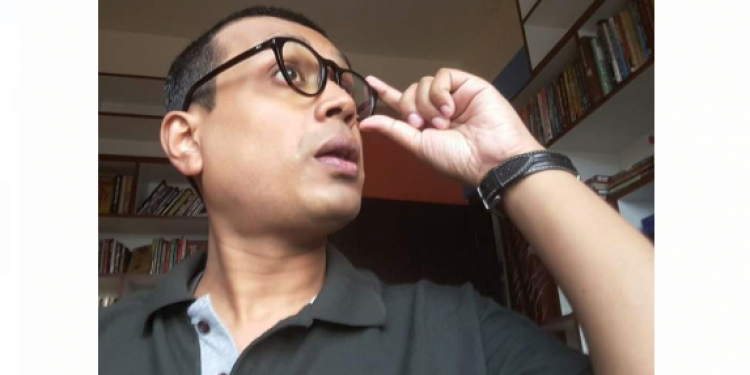 Promising Assamese story writer and police official Partha Bijay Dutta passed away
