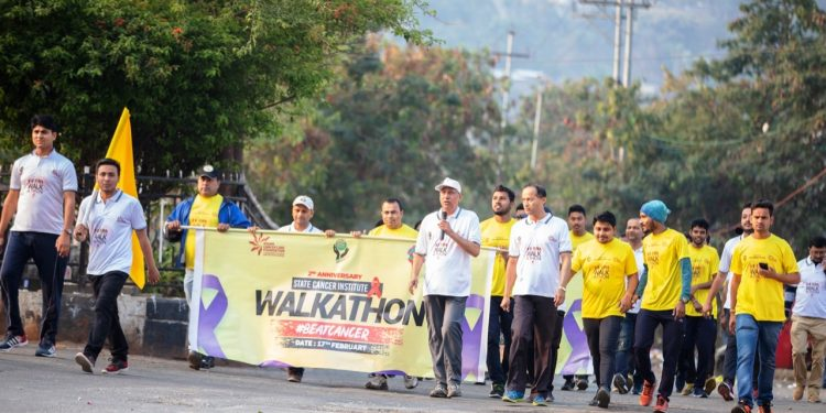 cancer walkathon