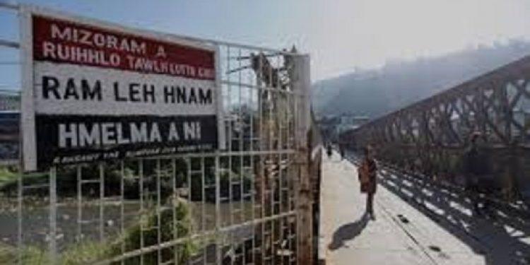 indo-myanmar border in mizoram