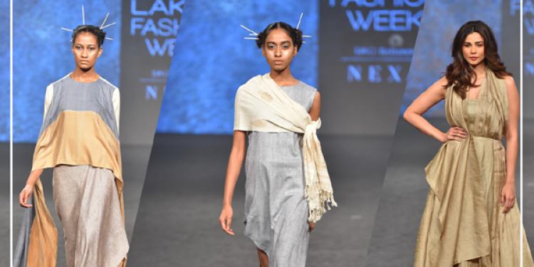 Guwahati designer Kanchan More Sabharwal showcased her collection 'North East Breeze'