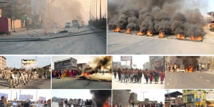 manipur protest feb 12