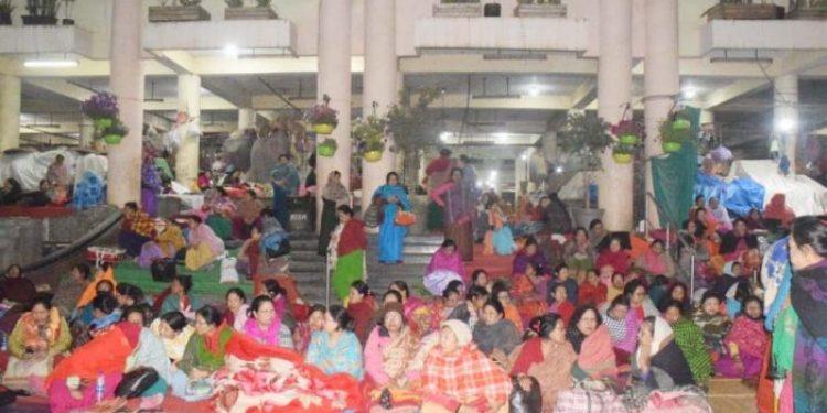 manipur women protestors
