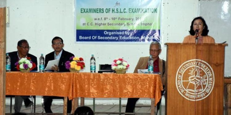 Training to conduct fair matric exam organized for Manipur examiners