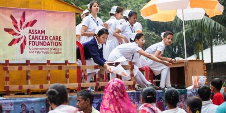 Assam: ACCF sensitizes lakhs of people on cancer at Morigaon