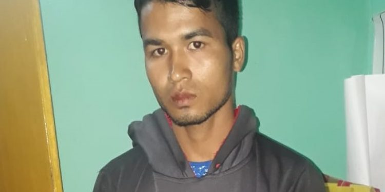 silchar youth held