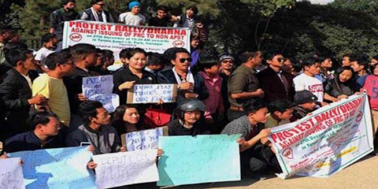 PRC protest