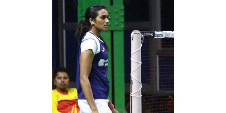 Ace Indian shuttler, PV Sindhu on Thursday advanced to the women's singles quarterfinals