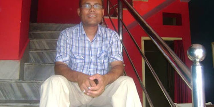 Munindra Kumar Mazumdar, mathematics teacher of Maria's Public School of Assam