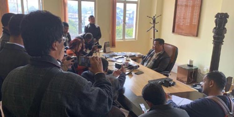 Entry-exit point to be setup, ILP is a mechanism: Meghalaya CM
