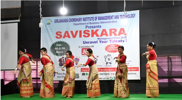 Students showcase myriad skills at management fest in Guwahati 1