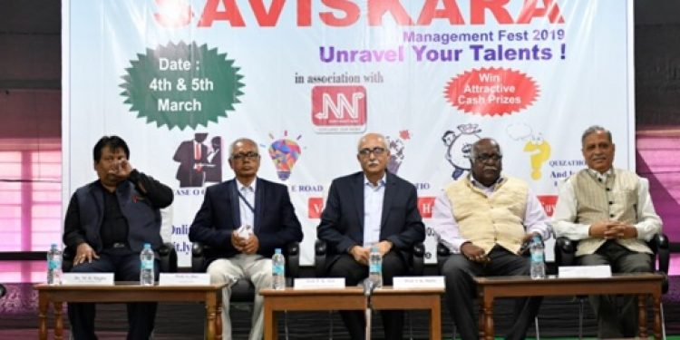 The dignitaries at the management fest