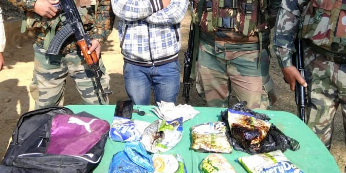 Manipur: Assam Rifles nab alleged drug peddler and banned cadre member