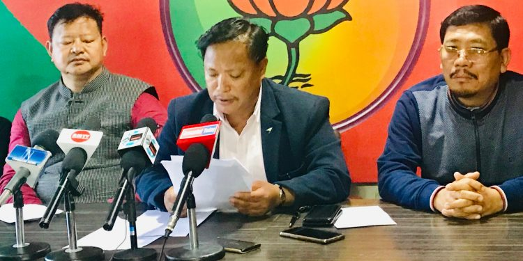 Cong incited youths to carry out rampage in Itanagar over PRC: BJP 1