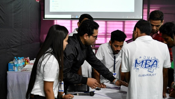Students showcase myriad skills at management fest in Guwahati 2
