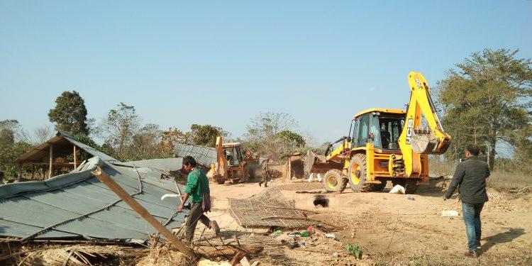 Eviction at Langkaijan