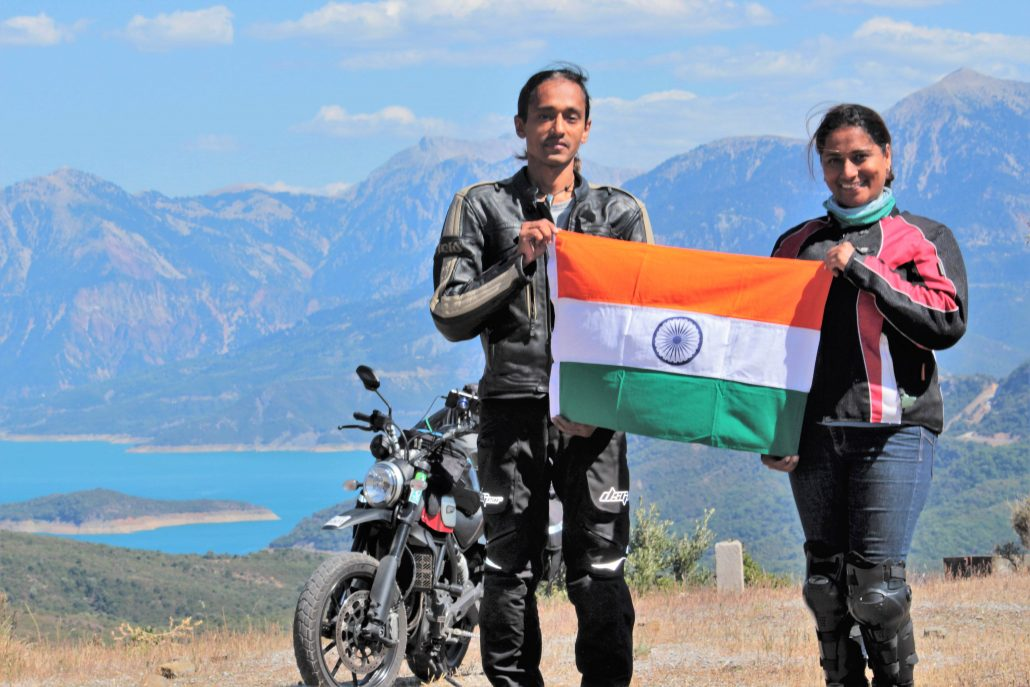 Biker couple talks about journey across 18 countries in newly published book 1
