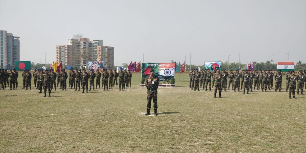 Indo- Bangladesh joint military exercise Sampriti 2019 concludes harmoniously 1
