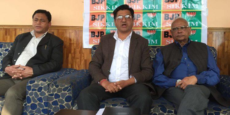 Sikkim BJP president Chauhan