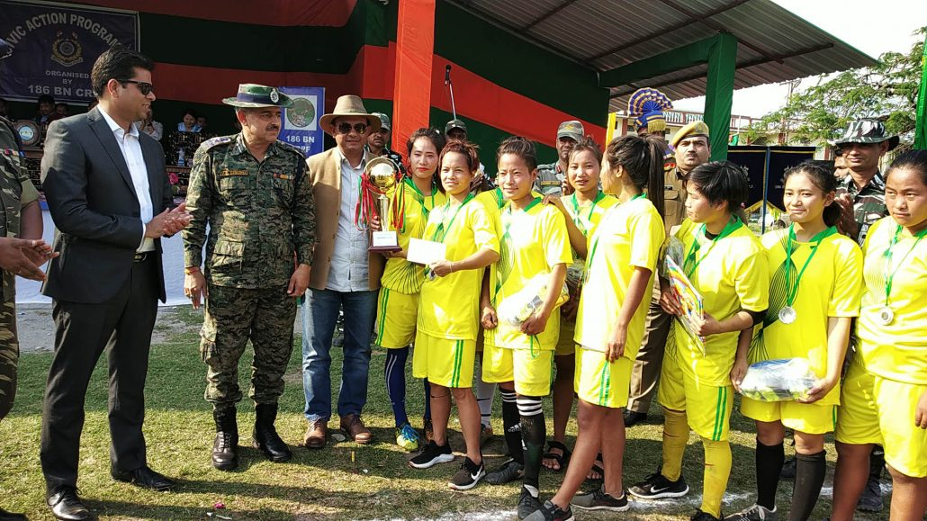 Arunachal Pradesh: All girls football tournament remembering Pulwama martyrs 2