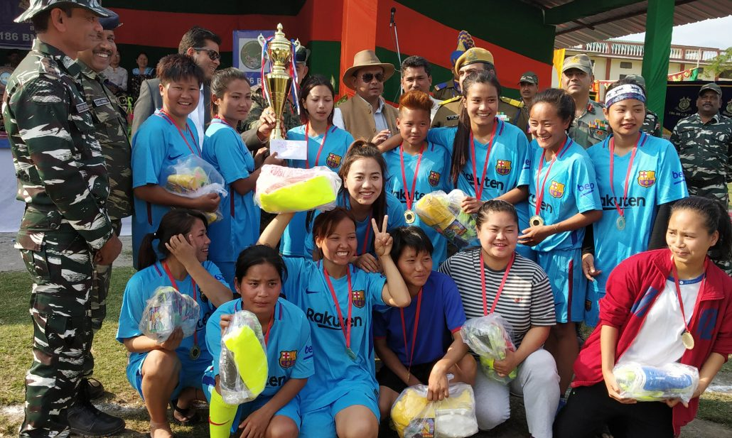 Arunachal Pradesh: All girls football tournament remembering Pulwama martyrs 1