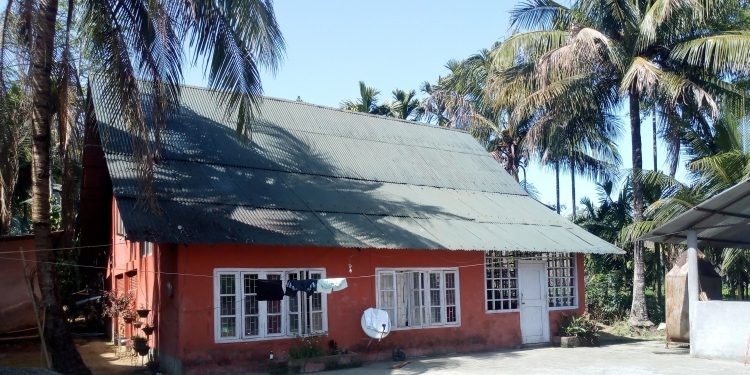 Pujashree Old Age Home situated 5 km from Dibrugarh town Image Credit: Northeast Now