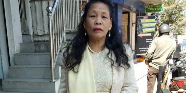 Lalthlamuani, a Jew, will be contesting as an Independent candidate against five male rivals in Mizoram. Image credit: Hindustan Times