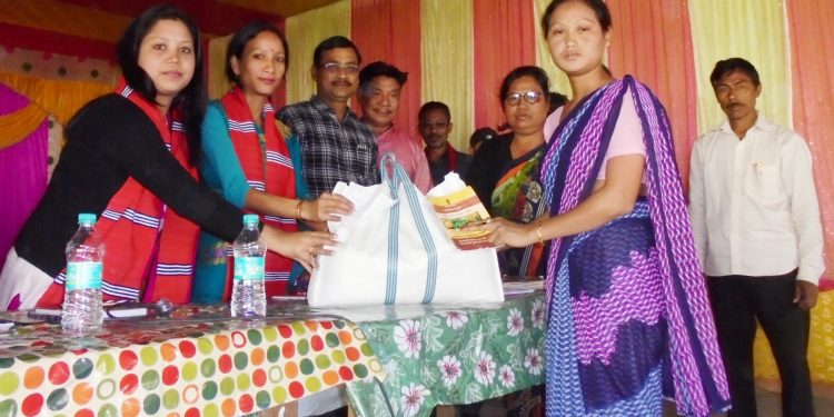 ANNA Yojana', which aims to supply rice at Re 1 per kilogram was launched in Dhemaji district on Saturday.
