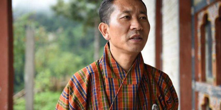Prime Minister of Bhutan Lotay Tshering