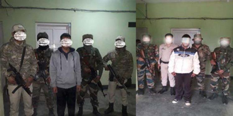Militants nabbed