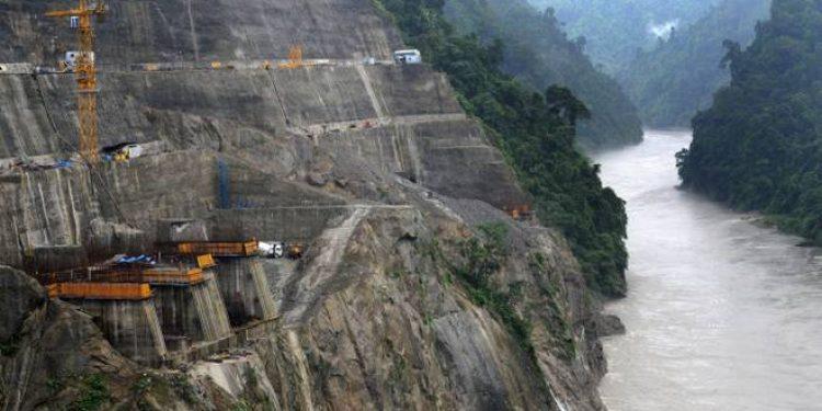 Lowe Subansiri dam