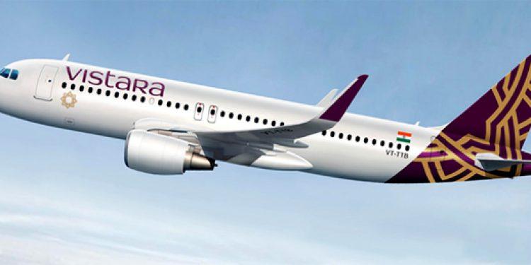 Vistara airlines aircraft