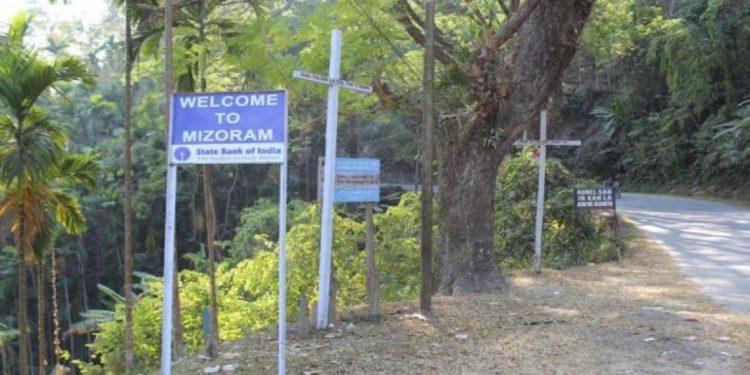 Ind-Bangladesh border area in Mizoram Image Credit: Northeast Now