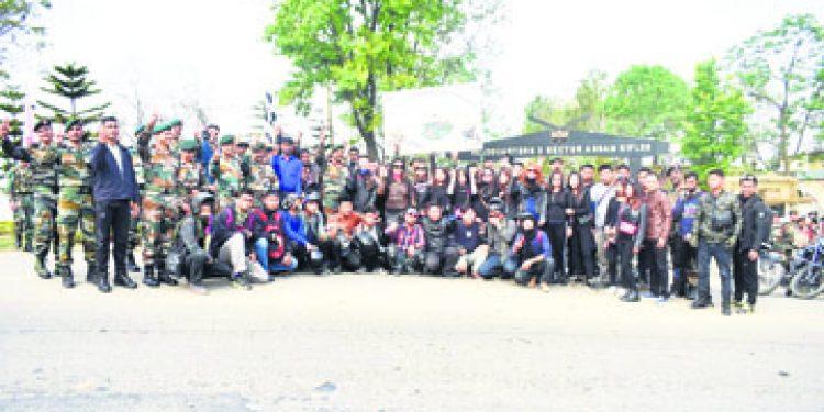 battle of kohima bike rally