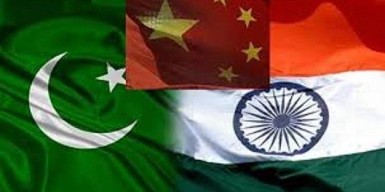china pak india