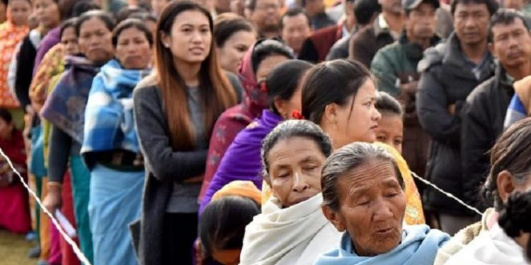 Election in Manipur Image Credit: financialexpress.com