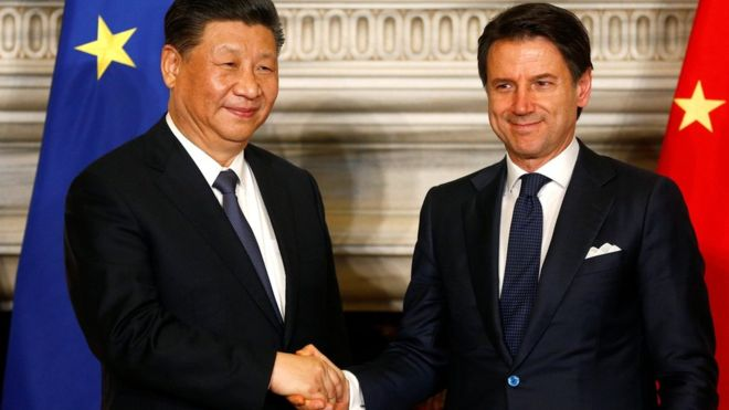 Italy closes agreement for the new silk road — European Union and China