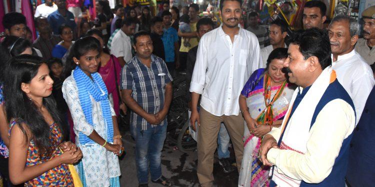 06-04-19 Tezpur- Ranjeet kumar Dass election campaining (3)