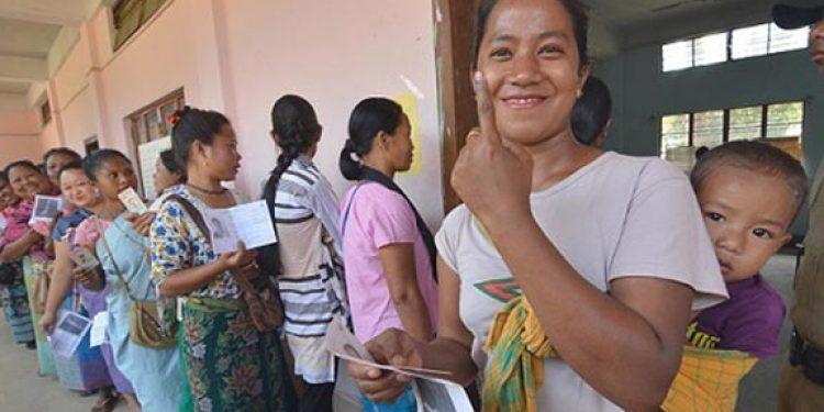 Polling in Meghalaya