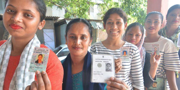 11-04-19 Meghalaya- LS peoples casting vote (6)