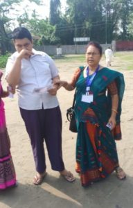 Assam: PwD voters cast their votes in huge numbers in the 2nd phase of LS polls 2