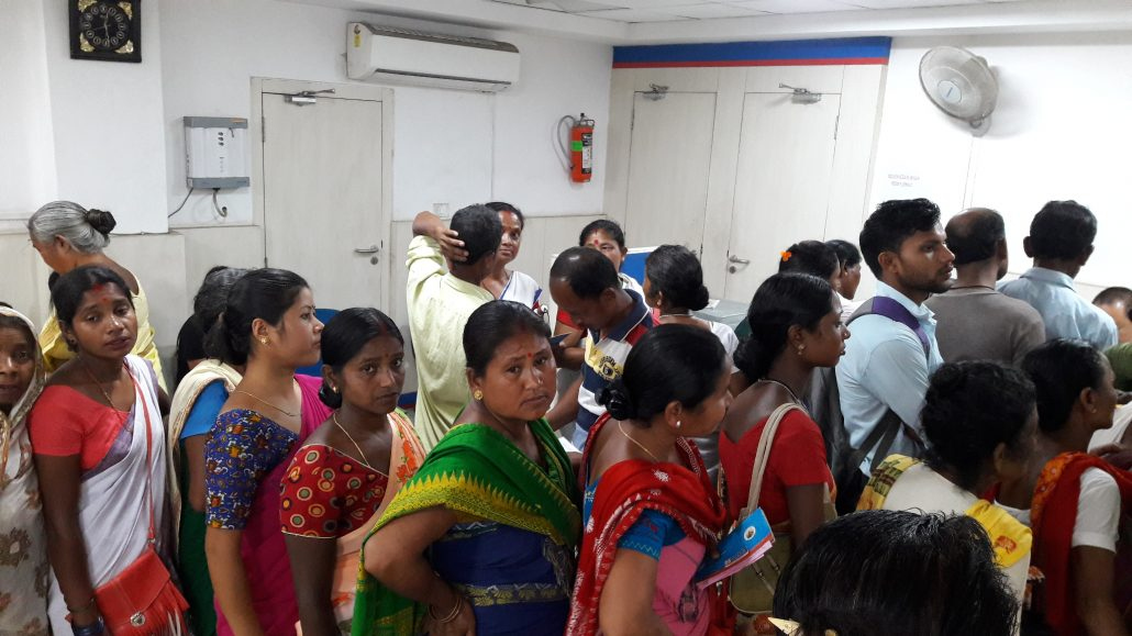 Assam: Bank functioning on a 5-member team leaves customers miserable 4