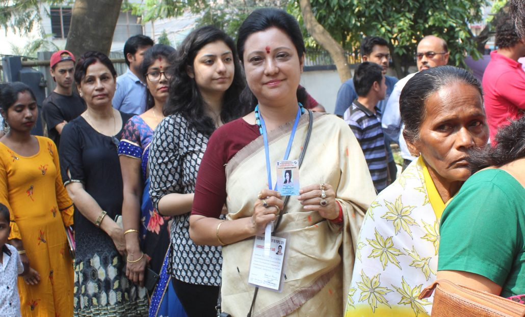Actors and politicians cast vote in Guwahati on Phase III of LS Elections 3