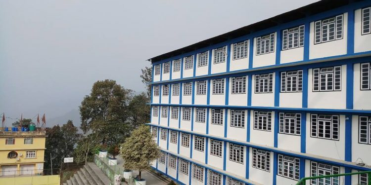 St. Xaviers School, Pakyong Image Credit: The Voice of Sikkim