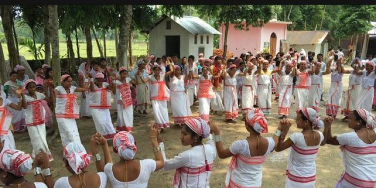 Ebaku Bishu celebrated in Lakhimpur