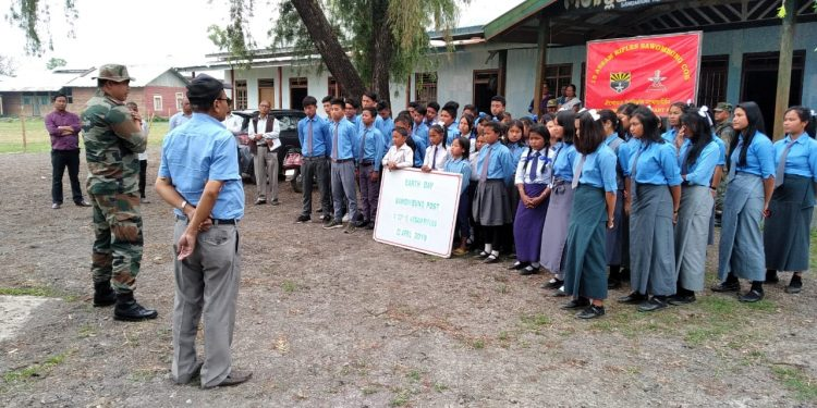 Assam Rifles celebrates World Earth Day (1)