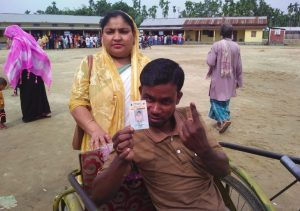 Assam: PwD voters cast their votes in huge numbers in the 2nd phase of LS polls 4