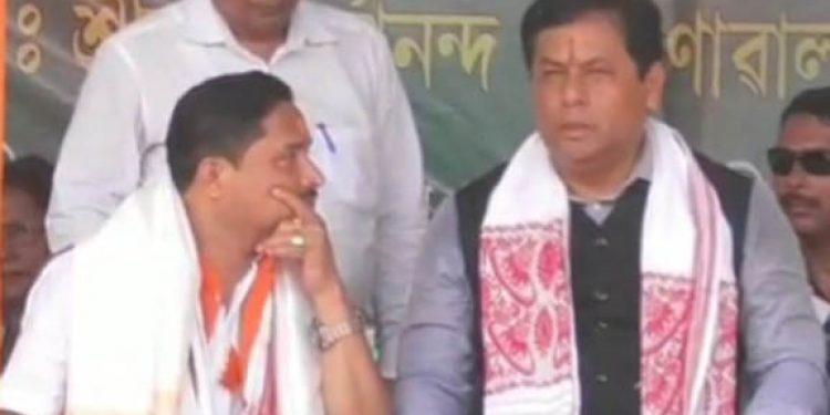 Sonowal and Dilip Saikia