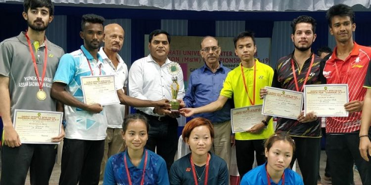 Champion Trophy Inter College Badminton 2019